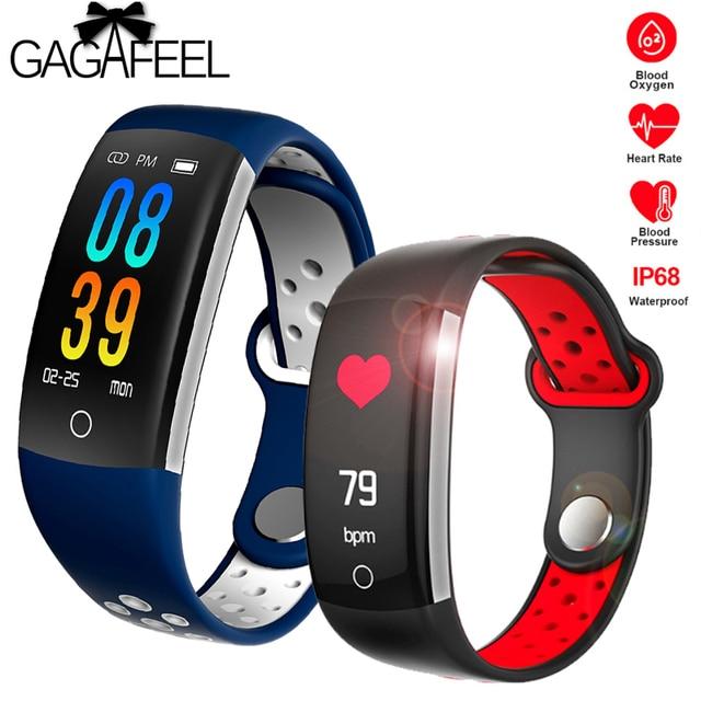 Gagafeel Q6 Fitness Tracker Smart Bracelet HR Fitness Bracelet Sleep Tracker Wat