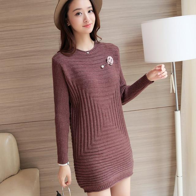 4170-2016 Corea del otoño nuevas mujeres suéter 50