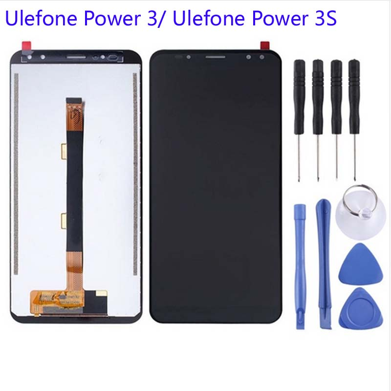GRF&WENO 100% 3 Power3 LCD Display Touch Screen Assembly Digitizer Replacement