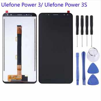 100% Original For Ulefone Power 3 Power3 LCD Display +Touch Screen Assembly Digitizer Replacement For Ulefone Power 3S Display - Category 🛒 Cellphones & Telecommunications