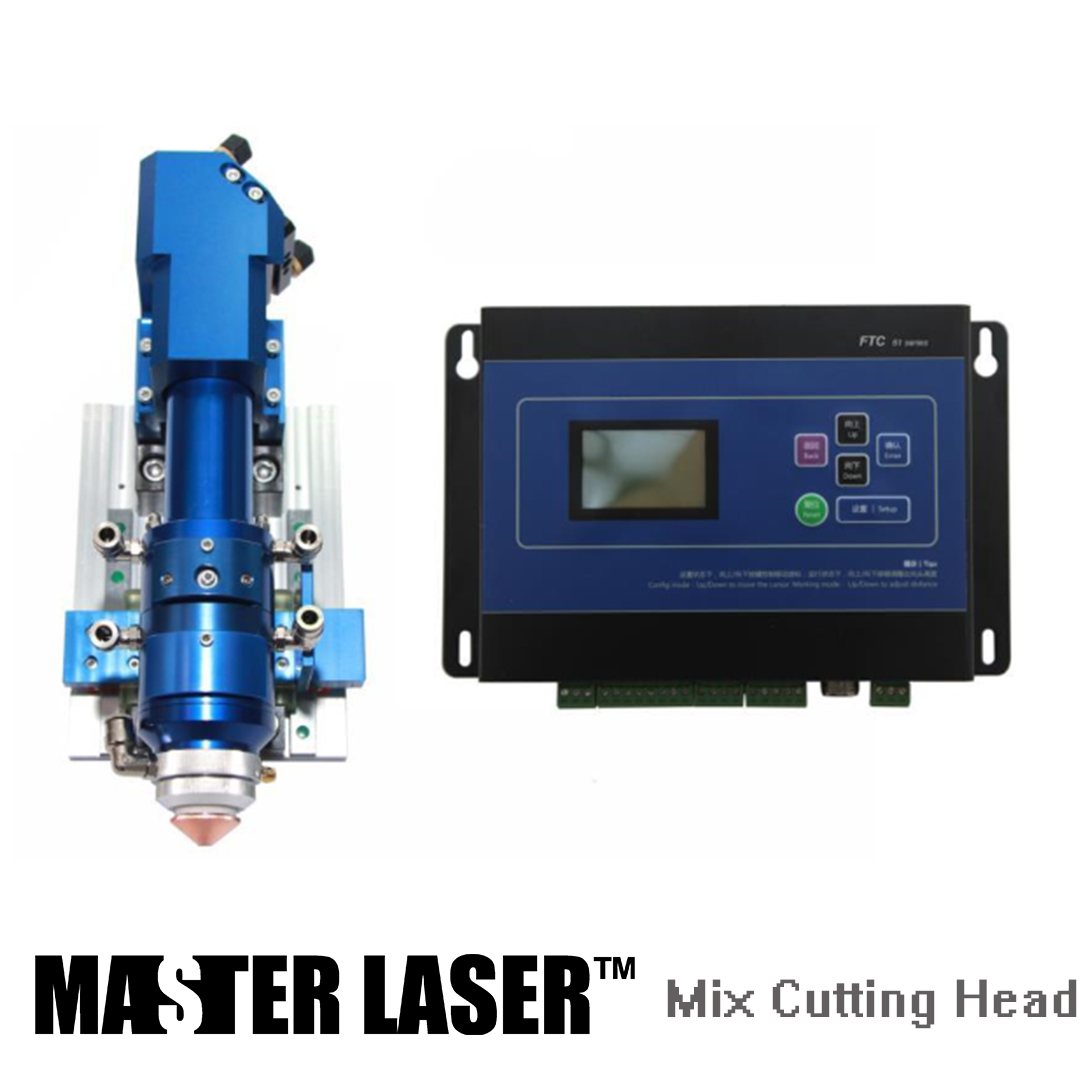 Qualified Products Metal and Non metal Mixed Cut Head for CO2 Laser Cutting Machine Laser Heads