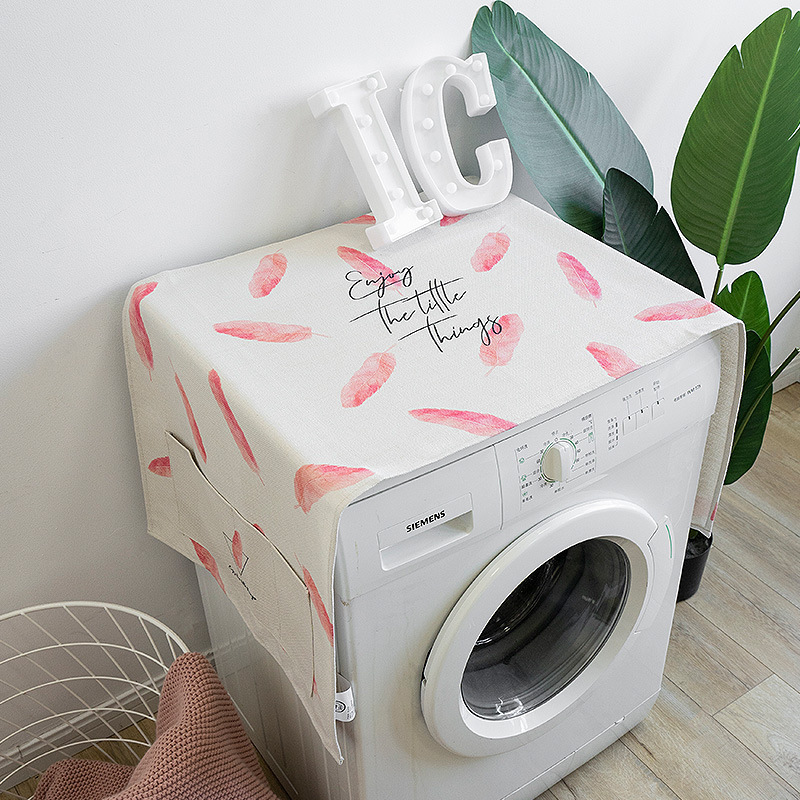 Princess Powder Drum Washing Machine Cover Cloth Fabric Dust Cover Refrigerator Cover Bedside Table Cloth Cover Towel 4 Washing Machine Covers Aliexpress