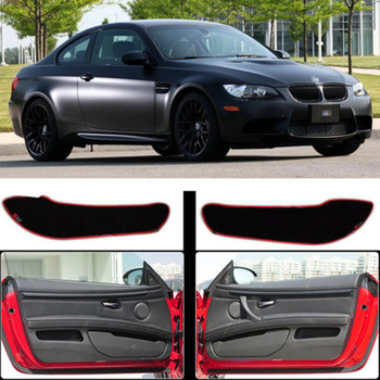 Brand New 1 Set Inside Door Anti Scratch Protection Cover Protective Pad For BMW M3 2009-2013