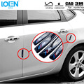 Hot sell 4PC Universal Glue Decorative car stickers and decals Anti-collision Removable auto Door Protective film for bmw style
