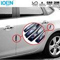 Venta caliente 4 UNID Universal Pegamento Decorativo pegatinas de coches y calcomanías anticolisión automático Extraíble Puerta de la película Protectora para bmw estilo