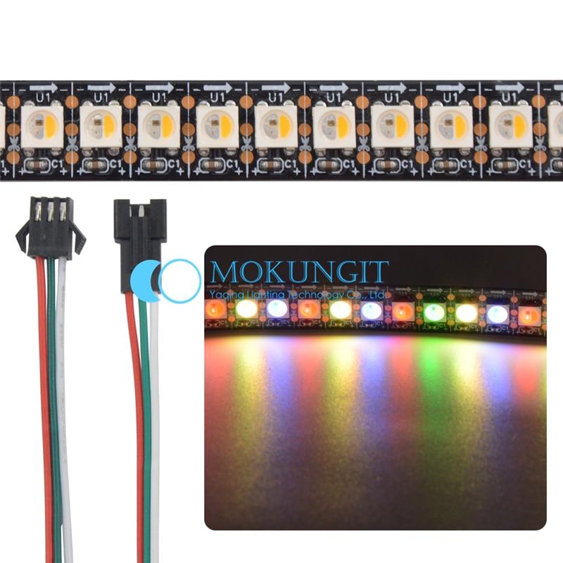 5X1M SK6812 RGBW Warm /Cool White 4 color in 1 Chip 144 leds/Pixels/m 5050 SMD LED Strip White/Black PCB IP65/IP67/IP30 DC5V чайник sinbo sk 7315 white