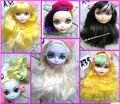 Бесплатная доставка Новое Прибытие 10 шт./лот DIY Игрушки Аксессуары кукольные головы монстр игрушки куклы, головки для когда-либо кукла, подарок для девочки