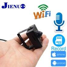 Jienu Ip Камера Wi-Fi 720 P 960 P 1080 P мини видеонаблюдения Поддержка аудио Micro SD слот Ipcam Беспроводной дома Малый Cam