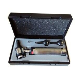 Image 1 - Быстрая доставка, Профессиональный Диагностический Отоскоп, медицинское зеркало для ушей с галогенсветильник кой, проверка барабана
