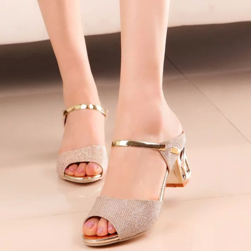 New Genuine Leather Wedge Women Sandals Fish Mouth High Heels Zipper Summer Fashion Sandals Women sale new styles wholesale price sale online MeCGc