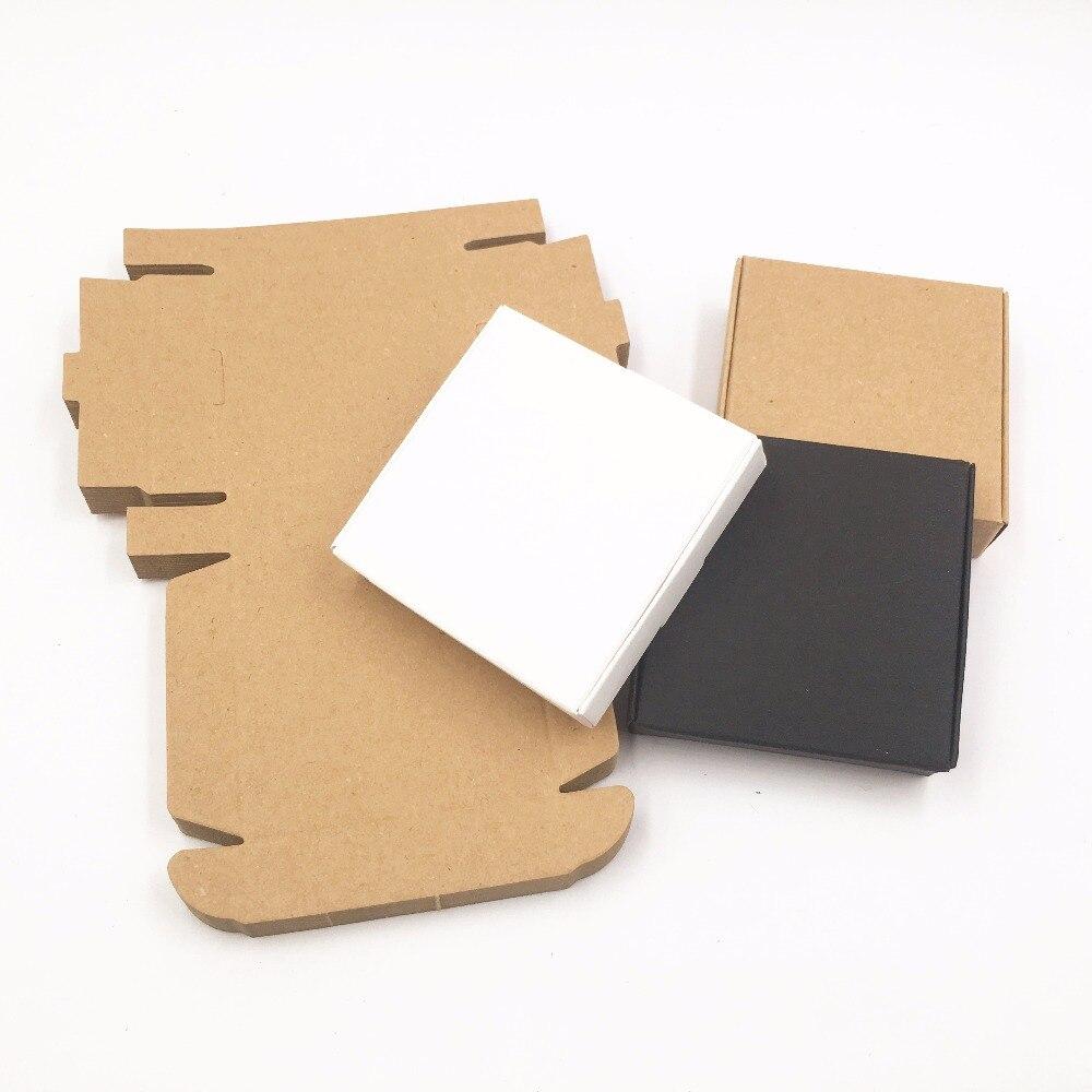 50pcs DIY Kraft Paper Box Gift Box For Wedding Favors Birthday Party ...