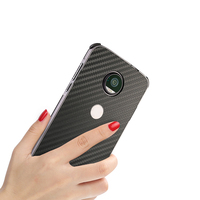 For Z2 Play Phone Cover Luxury Ultra Thin Carbon Fiber Anti Drop Back Cover For Moto