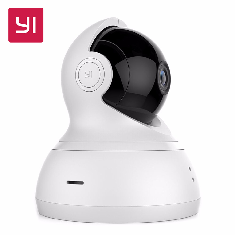 [International Edition] Xiaomi YI Dome Home IP Camera 112 Wide Angle 720P 360 Two-way Voice Call Infrared Night Vision WiFi Cam ip камера yi yi dome camera black