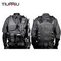 Military Clothing Vest Tactical Softair Multicam Militaire Uniforme Militar Combat Colete Tatico Hunting Multi functional Ww2