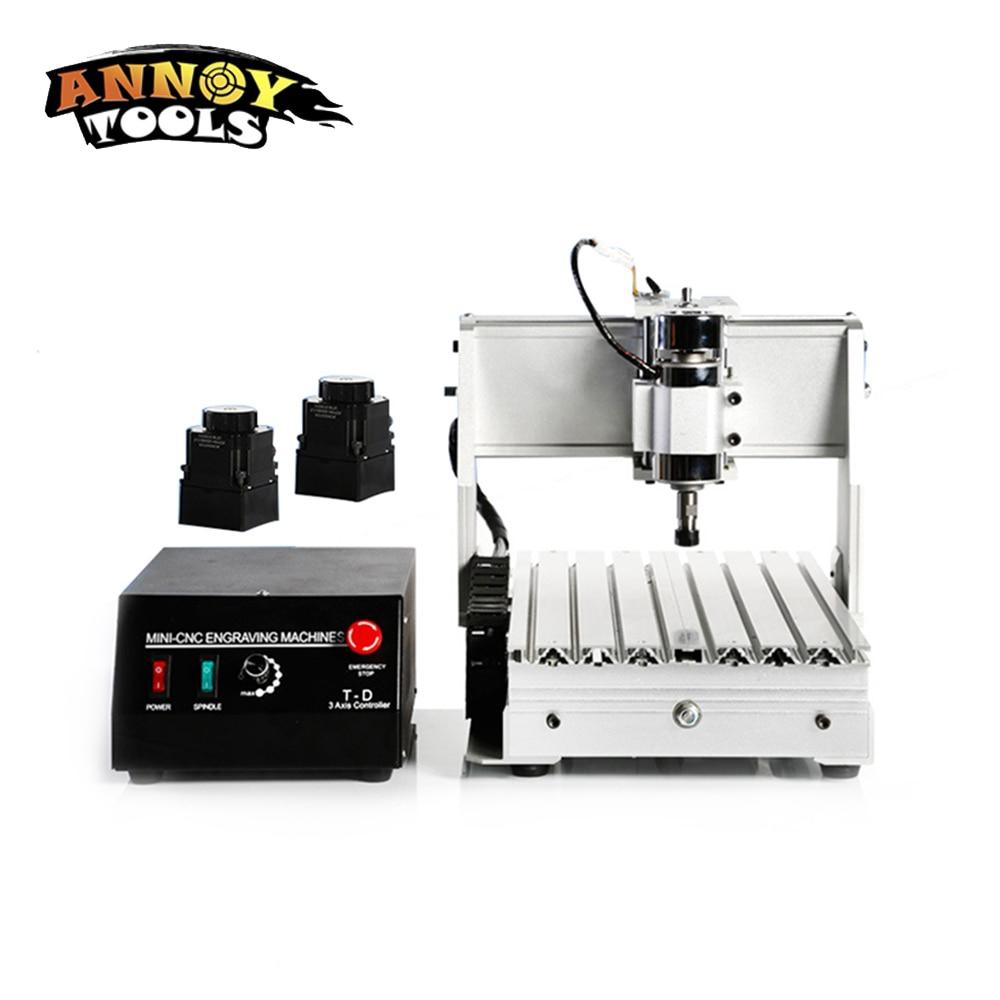 CNC 300W 3020 3 Axis CNC Engraving Machine Engraving PVC Three-axis Plane Engraving Machine Wood Carving Machine цена
