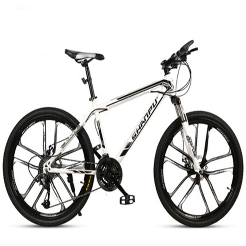 Cross-Country Mountain Bicycle 21/24/27/30 Speed Ten-Blade Wheel Ultra-Light Shock Absorption For Men And Women