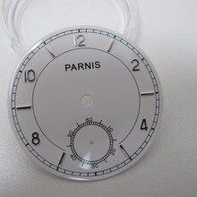 Круглые часы аксессуары 38,9 мм Parnis часы лицевой аналоговый второй Хронограф Мужские механические часы циферблат аксессуары для часов запчасти