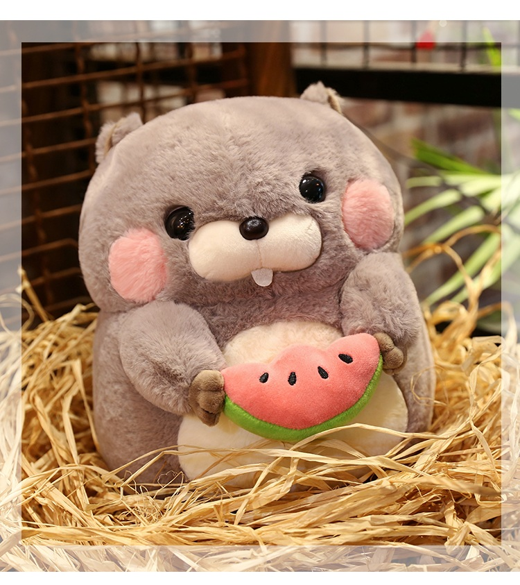 Kid Gift Squirrel Staffed Animal Plush Toy Doll Kid Gift 25CM Soft PPT Cotton Sheep New Arrival Free Shipping A-55