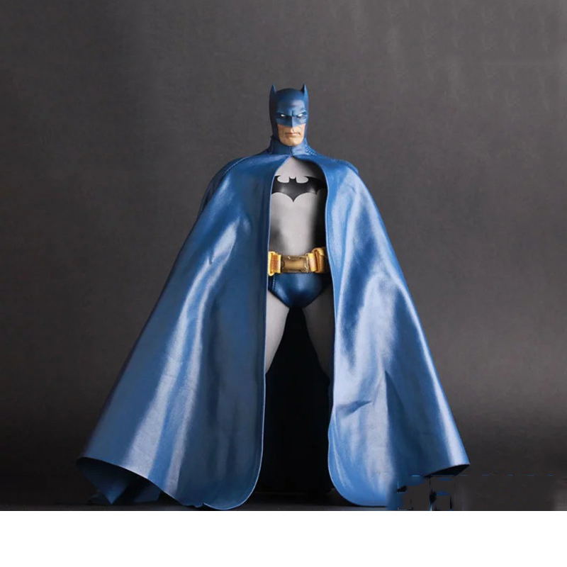 12 Inches 1/6 Scale PVC Movable Joints Blue Batman Action Figures Collectiable Figures Collections Displays Boys Toys Brinquedos patrulla canina with shield brinquedos 6pcs set 6cm patrulha canina patrol puppy dog pvc action figures juguetes kids hot toys