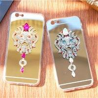 For Samsung S3 S4 S5 S6 S7 Edge Plus Note 3 4 5 Luxury Diamond Rhinestone
