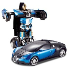 RC 1/14 car 2.4G Deformation Robocops Remote Control Toys Radio Controlled Machine Toys For Boys No Original Box