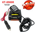 QYT KT-8900R Повышен Мини-Автомобиль, радио VHF/UHF Tri-band 25 Вт 200Ч схватка FM 8900r Автомобилей Мобильный Трансивер Радио 50 для Шины такси