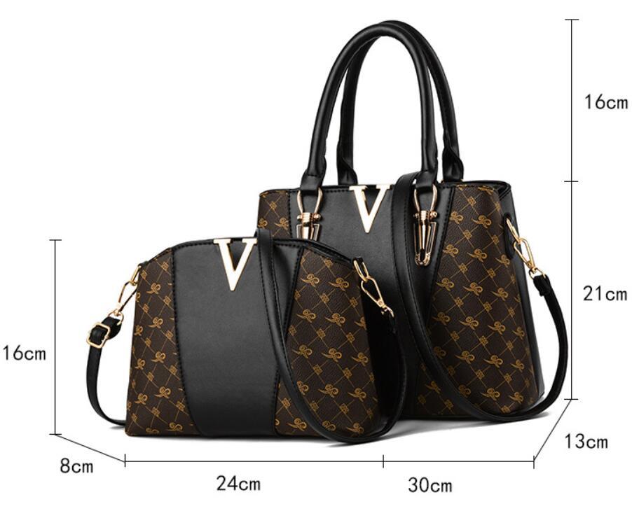 Women Bags Set 2 Pcs Leather Handbag Women Tote Bag Ladies Shoulder Bag for Women 2018 Messenger Bag Sac a Main 31