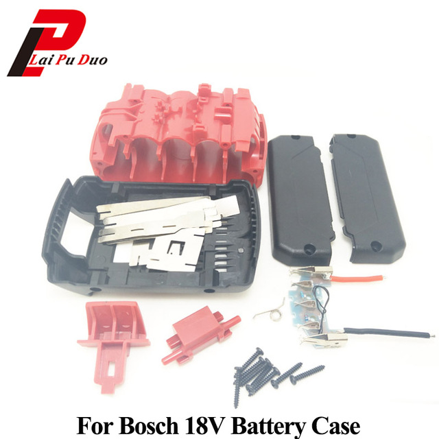 Power Tool Batterij Plastic Shell Vervanging Case voor Bosch 18V Cover (Geen Cellen Binnen) BAT618