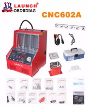 Launch CNC-602A CNC602A injector cleaner and tester 220V/110V With English Panel Free shipping