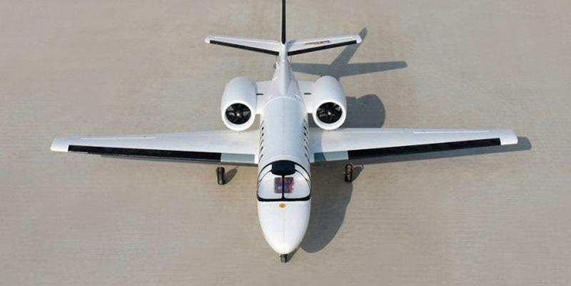 все цены на  Dynam 1180MM Cessna 550 Turbo Jet RC PNP/ARF Propeller Plane W/ Motor ESC Servo  онлайн