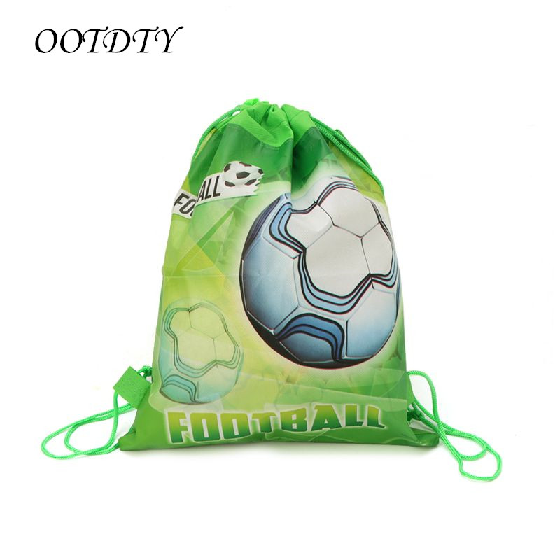 Football Storage Bag Non-woven Fabric Drawstring Bag Outdoor Sport Gym Backpack Football Accessories