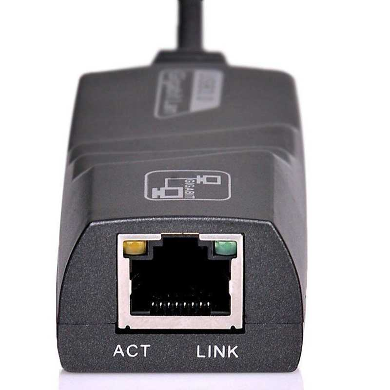 Usb 3,0 до 10/100/1000 Мбит/с гигабитный Rj45 Ethernet cетевой адаптер LAN для компьютера Mac ..