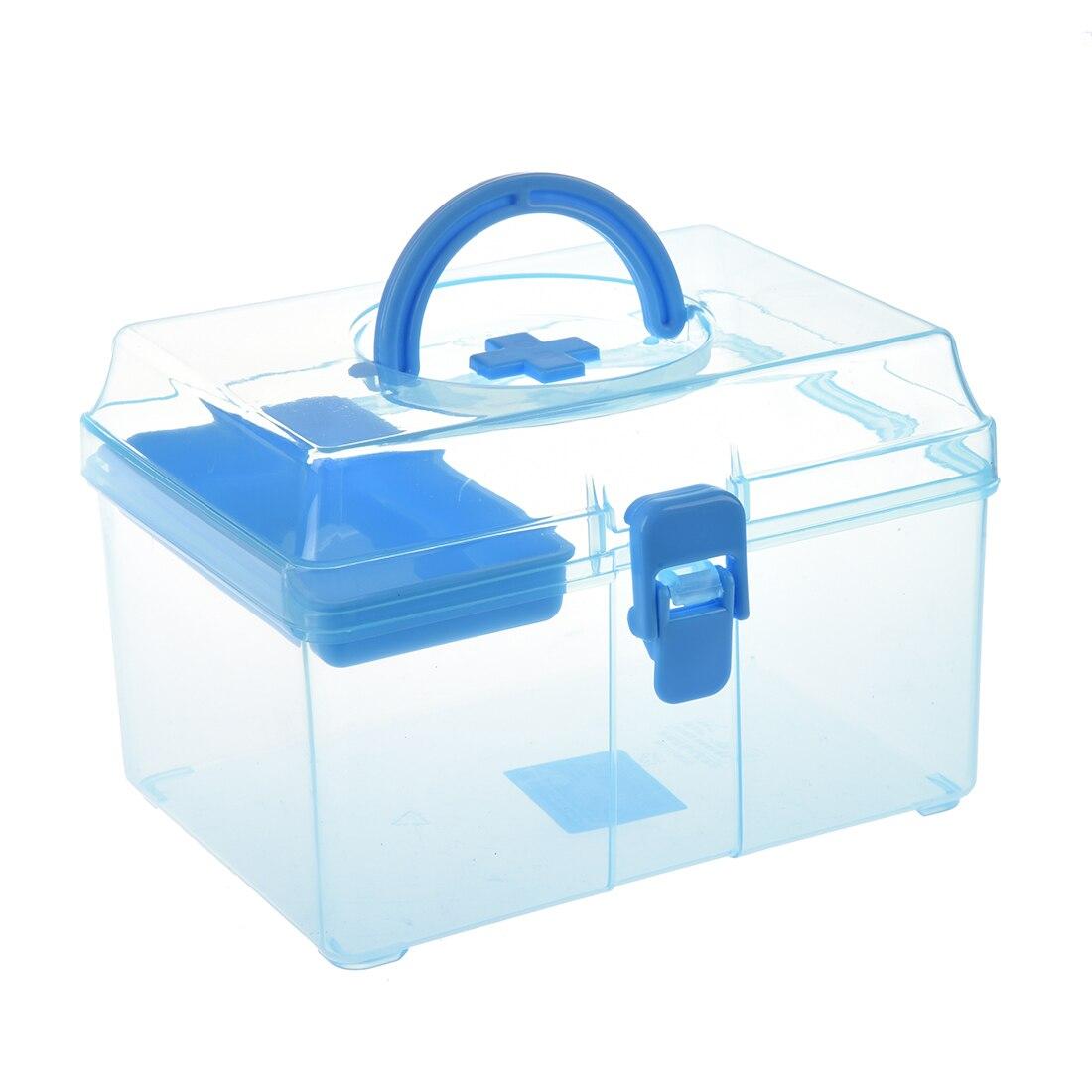 Caixa de primeiros socorros da família kits de emergência caso portátil médico tratamento de feridas comprimidos ataduras caixa de armazenamento para casa viagem de carro