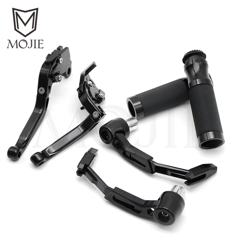 Motorcycle Brake Clutch Levers Handle Hand Grips Lever Guard Guards Set For Honda CBR1100XX / BLACKBIRD CBR 1100XX CBR 1100 XX