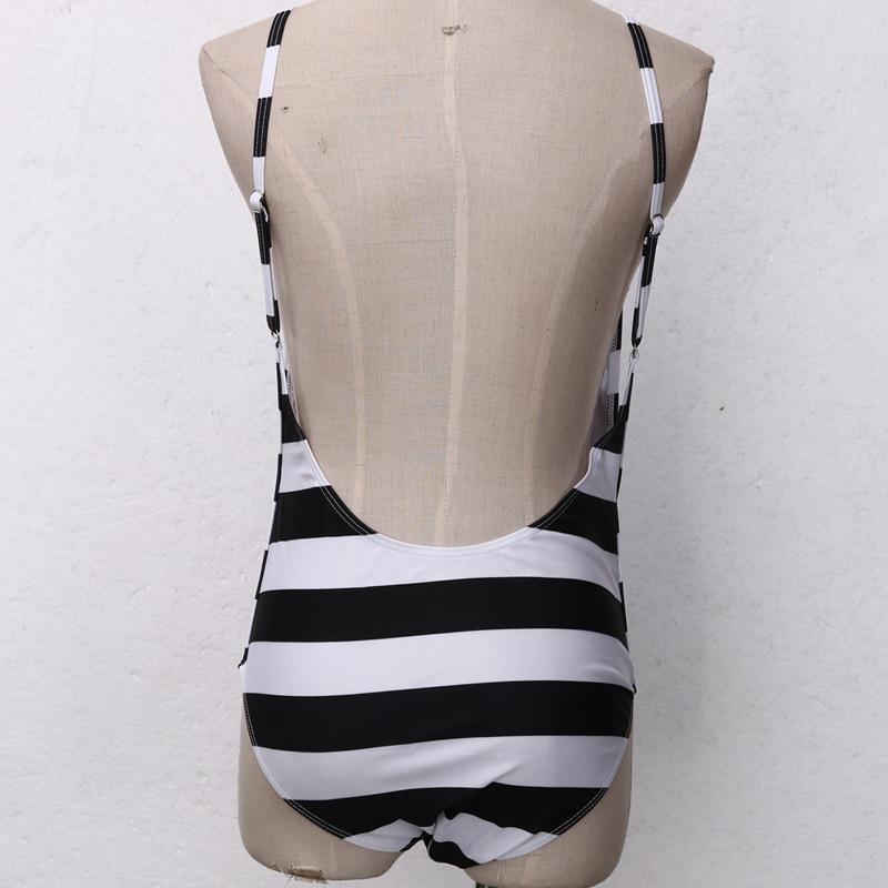 HTB134MkQVXXXXbXXXXXq6xXFXXXl - Women Sexy Swimsuit Black and white stripes JKP222