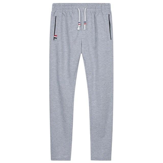 Men Joggers Hip Hop Pencil Feet Pants Elastic Waist Men Skinnly Pencil Pants Men Slim Fit Mens Casual Pants Straight Trousers 4