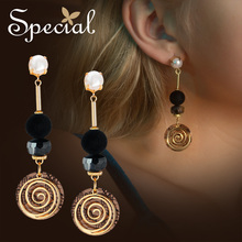 Special American S925 Silver Needle Earring Ears No-hole Ear Clip Lining the Hour Light.