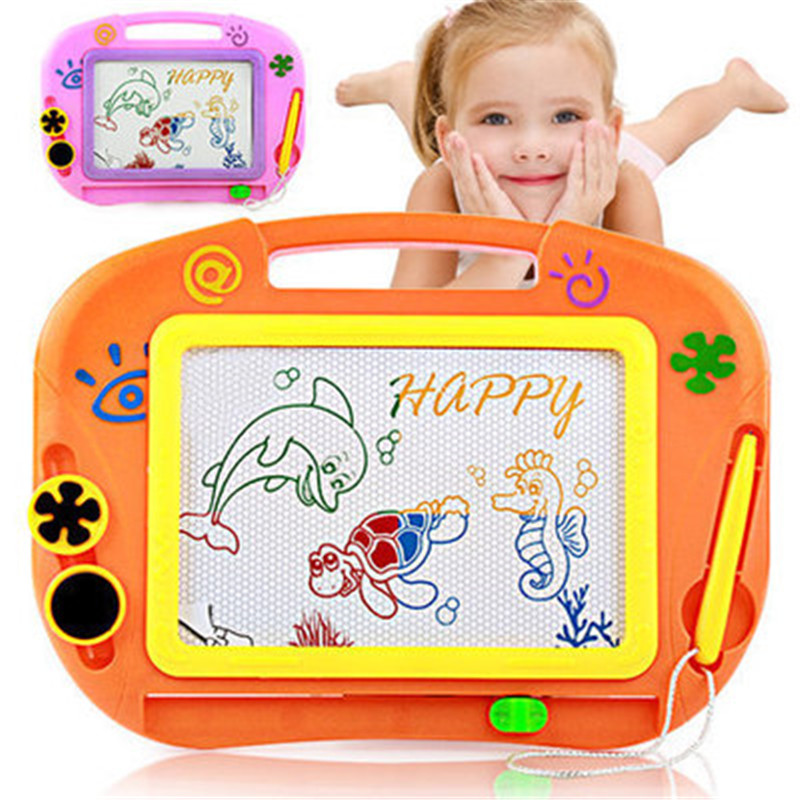 Magnetic Drawing Board - Kids Magna Drawing Doodle Board Erasable Writing Sketch Board Pad Toddler Doodle Board Lovely Stamps