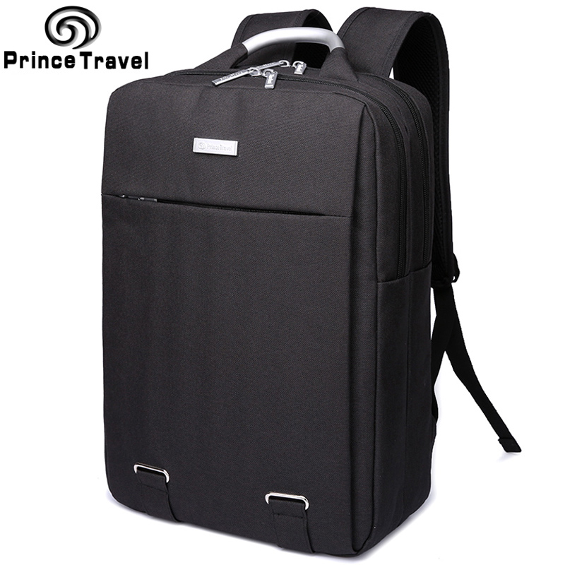 fc2e2e0457 Prince Travel Brand Designed 14 Laptop Backpack Business Style Black Men s  Backpacks Cool Large Capacity School Backpack Bag-in Backpacks from Luggage  ...