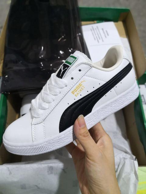 e63512eea78 Original PUMA Womens Suede Classic Mono 3M Jelly Men s Beige Color  Badminton Shoes Sneakers Size EUR35.5-44