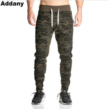 ФОТО  addany new streetwear men's pants bodybuilding fitness joggingg pants gyms bodybuilding necessary camouflage pants