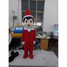 Custom Made Adult Halloween Elf on the Shelf Mascot Costume Christmas Party Mascot Birthday Gift Mascot Costume L0713