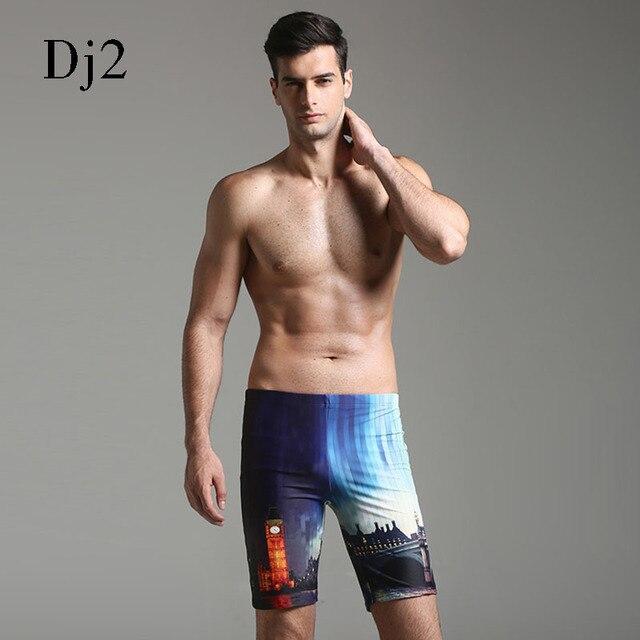 2017 Swimwear Men Swimming Shorts For Men Swim Boxer Swimming Trunks Light  Thin Boardshort Beachwear Plus Size Bathing Suit Male 26a605682