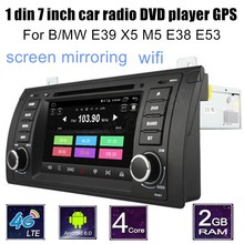 Android 6.0 For BMW E39 X5 M5 E38 E53 Car GPS DVD Player steering wheel control support rear camera