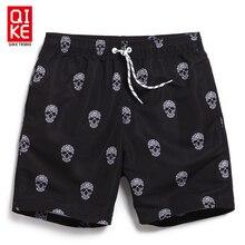 Board shorts men swimwear sweat running moda praia joggers beach skull bermudas zwembroek heren surf zwembroek