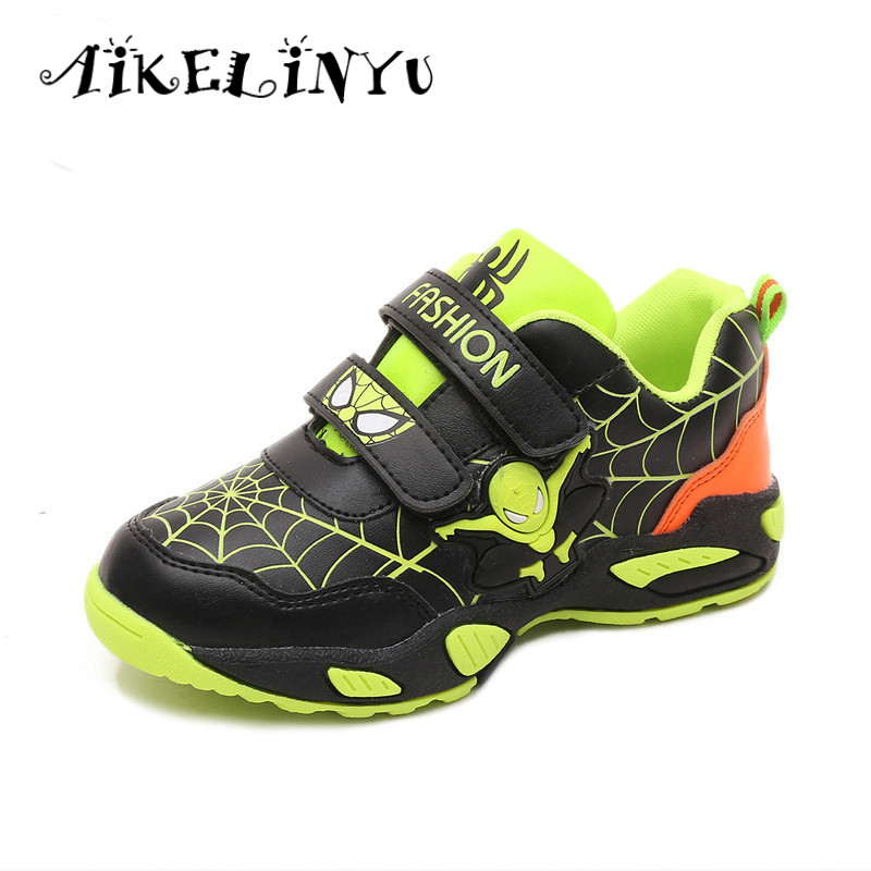 Sneakers 2019 New Spider-man Jogging Shoes Recreational Sports Cool Running Shoes Sports Breathable Jogging Shoes Sneakers