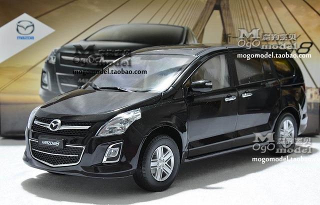 Dealer 1 18 Mazda 8 Mpv Commercial Car Black Car Model New Year Gift