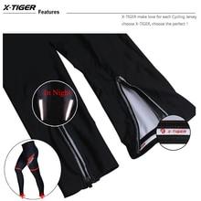 X-Tiger Demi-Season Pants with 5D Gel Pad MTB Bike Tights Pants for Girls Mountain Bike Sports Pants for Girls Cycling Moto Pulls