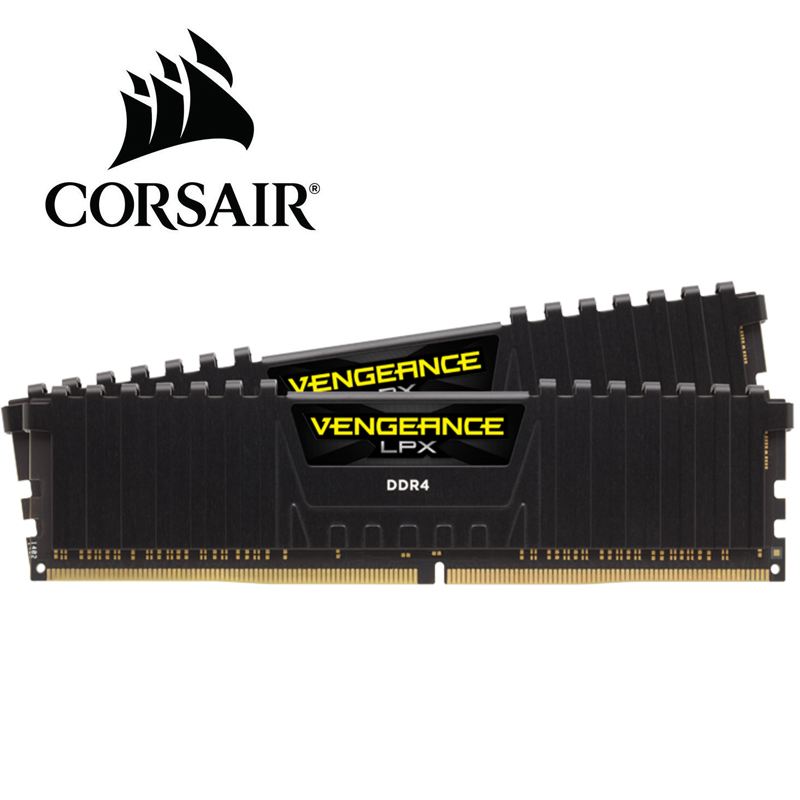 CORSAIR ddr4 ram 8GB 3200MHz or 2400MHz 3000MHz 2666mhz DIMM Desktop Memory Support motherboard ddr4 pc4