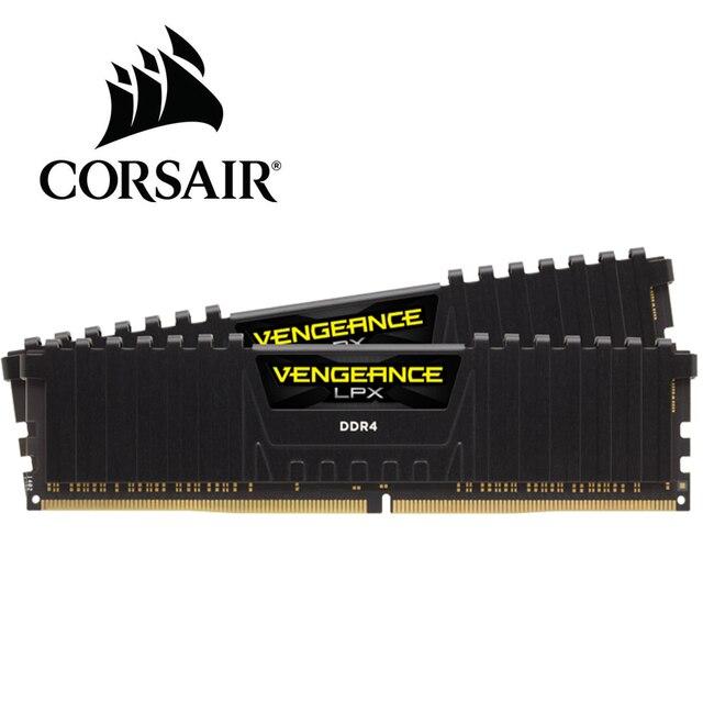 CORSAIR ddr4 ram 8GB 3200MHz 또는 2400MHz 3000MHz 2666mhz DIMM 데스크탑 메모리 지원 마더 보드 ddr4 pc4